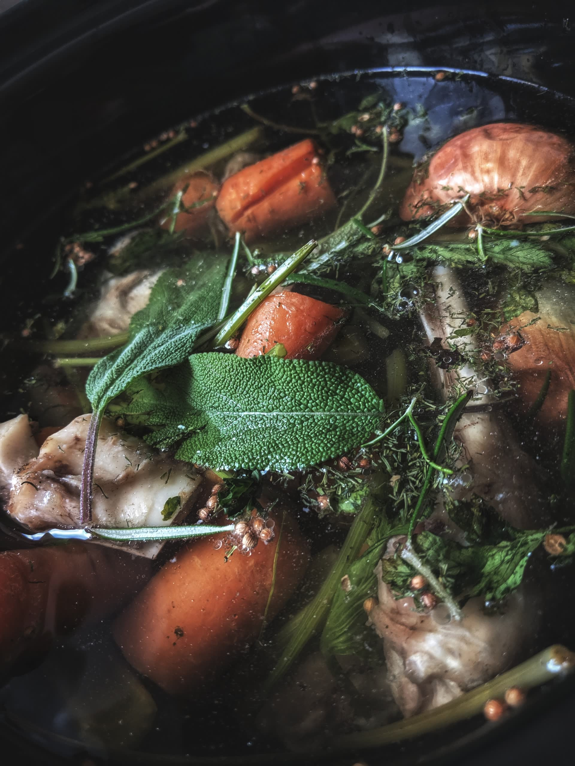 How To Make Stock From Kitchen Scraps
